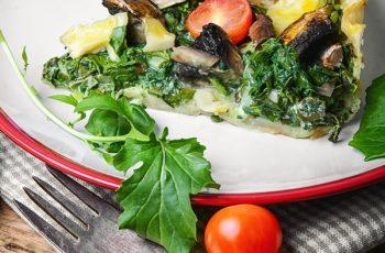 Placinta din legume cu branza