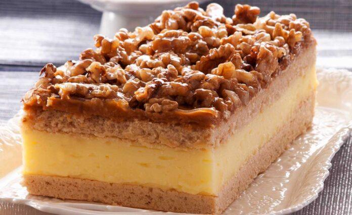 prajitura snickers nuci