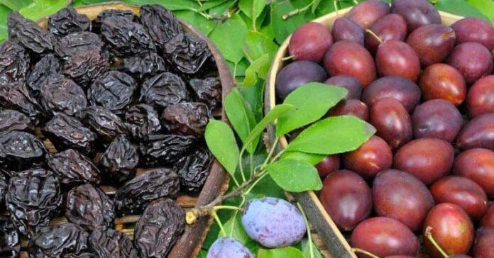 Dieta: Consumul de prune uscate favorizează pierderea în greutate !